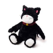 Warmies Cozy Plush  Black & White Cat Microwaveable Soft Toy